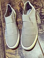 abordables -Homme Chaussures Toile Eté Confort Basket pour Décontracté Noir Gris