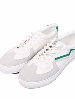 cheap -Men's Shoes Fabric Spring Fall Comfort Sneakers for Casual White Black White/Green
