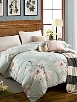cheap -Duvet Cover Floral 1 Piece Poly/Cotton 100% Cotton Jacquard Poly/Cotton 100% Cotton 1pc Duvet Cover