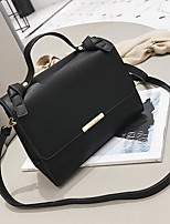 cheap -Women's Bags PU Shoulder Bag Zipper for Casual All Seasons Black Brown Khaki