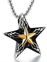 preiswerte -Herrn Anhängerketten - Freizeit Modisch Cool Glücklich LUCKY Modische Halsketten Für Alltag Strasse