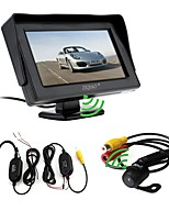 cheap -ZIQIAO 4.3 inch Other CCD Wired 170 Degree Car Rear View Kit Waterproof for Car