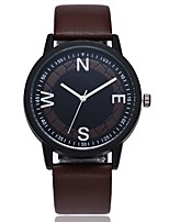 cheap -Women's Quartz Dress Watch Fashion Watch Casual Watch Chinese Casual Watch PU Band Casual Fashion Black Brown Green Chocolate