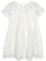 cheap -Girl's Daily Holiday Solid Dress, Rayon Summer Short Sleeves Simple Active White