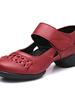 cheap -Women's Modern Leatherette Sneaker Outdoor Professional Low Heel Black Red Customizable