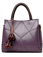 cheap -Women's Bags PU Tote Flower for Event/Party Casual All Seasons Black Red Gray Purple Yellow