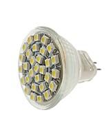 Недорогие -SENCART 1шт 2 Вт. 140-180 lm MR11 Точечное LED освещение MR11 30 светодиоды SMD 3528 Декоративная Тёплый белый Холодный белый Желтый DC