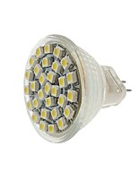 abordables -SENCART 1pc 2W 140-180lm MR11 Spot LED MR11 30 Perles LED SMD 3528 Décorative Blanc Chaud Blanc Froid Jaune 12V