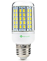 Недорогие -SENCART 1шт 8 Вт. 1500 lm E14 GU10 E26/E27 B22 LED лампы типа Корн T 96 светодиоды SMD 5630 Декоративная Тёплый белый Холодный белый