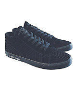 cheap -Men's Shoes Suede Winter Fall Comfort Sneakers for Casual Black Gray