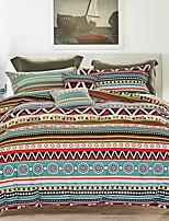 preiswerte -Bettbezug-Sets Künstlerisch gestaltet 4 Stück Polyester / Baumwolle 100% Baumwolle Reaktivdruck Polyester / Baumwolle 100% Baumwolle 1