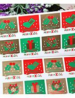 Недорогие -Праздник Наклейки и теги - 8 Новогодняя тематика нерегулярный Наклейки Зима