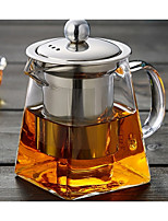 cheap -High Boron Glass Water Pot & Kettle Tea & Beverage Anniversary Tea Party Drinkware 1