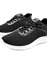 cheap -Men's Shoes Tulle Spring Summer Comfort Sneakers for Casual Outdoor Black Gray