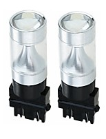 cheap -SENCART 2pcs 3157 Car Motorcycle Light Bulbs 30W W Integrated LED 1200lm lm 6 LED Light Bulbs Exterior Lights Foruniversal All years