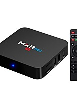 abordables -MXR pro Android7.1.1 Box TV RK3328 Quad-Core 64bit Cortex-A53 4GB RAM 32MB ROM Octa Core