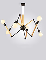 cheap -LightMyself™ Nature Inspired Chic & Modern Chandelier Pendant Light Ambient Light 110-120V 220-240V, Warm White White, Bulb Included