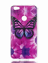 cheap -Case For Xiaomi Redmi Note 5A Redmi Note 4X Pattern Back Cover Butterfly Soft TPU for Xiaomi Redmi Note 5A Xiaomi Redmi Note 4X Xiaomi