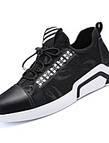 cheap -Men's Shoes Rubber Spring Comfort Sneakers for Outdoor Black Red