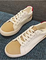 preiswerte -Herrn Schuhe Mikrofaser Frühling Sommer Vulkanisierte Schuhe Sneakers für Normal Draussen Rot Blau