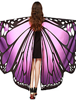 cheap -Fairytale Wings Fancy Costume Festival / Holiday Halloween Costumes Purple Yellow Cyan Rainbow Pink Butterfly Cover Up Adorable