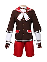 cheap -Inspired by Ensemble Stars Other Anime Cosplay Costumes Cosplay Suits Other Long Sleeves Coat Pants More Accessories For Men's Women's