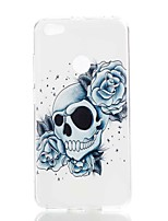 cheap -Case For Xiaomi Redmi Note 5A Redmi Note 4X Pattern Back Cover Skull Soft TPU for Xiaomi Redmi Note 5A Xiaomi Redmi Note 4X Xiaomi Redmi