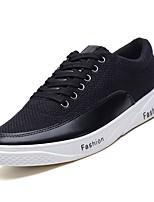 cheap -Men's Shoes Rubber Spring Comfort Sneakers for Outdoor White Black Blue