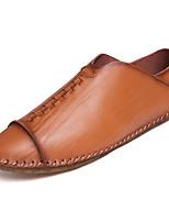 Недорогие -Муж. обувь Кожа Дерматин Замша Весна Лето Оригинальная обувь Удобная обувь Мокасины и Свитер Для прогулок Для велоспорта для Повседневные