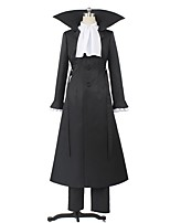 cheap -Inspired by Bungo Stray Dogs Cosplay Anime Cosplay Costumes Cosplay Suits Other Long Sleeves Coat Blouse Pants More Accessories Waist Belt