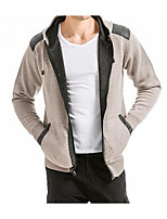 cheap -Men's Hoodie - Color Block, Print Hooded