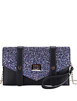 preiswerte -Damen Taschen PU Handgelenk-Tasche Perlenstickerei für Veranstaltung / Fest Normal Ganzjährig Schwarz Grau Dunkelgrün