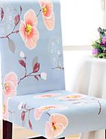 baratos -Moderna Rústico 100% Jacquard Poliéster Cobertura de Cadeira, Simples Floral Estampado Capas de Sofa