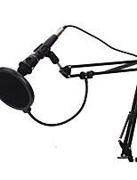 baratos -KEBTYVOR E-300 Com Fio 3.5mm Microfone Microfone Microfone de 3,5 mm microfone do estúdio Microfone Condensador Microfone Portátil Para