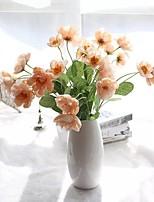baratos -Flores artificiais 2 Ramo Pastoril Estilo / Estilo Europeu Flores eternas Flor de Mesa