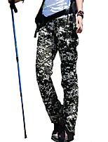 Недорогие -Жен. Штаны для туризма и прогулок На открытом воздухе Альпинизм Катание вне трассы Фитнес Воздухопроницаемость Брюки На открытом воздухе