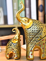 cheap -2pcs Resin European StyleforHome Decoration, Collectibles