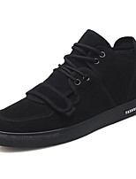 cheap -Men's Shoes Synthetic Microfiber PU Spring Fall Comfort Sneakers for Casual Black Red