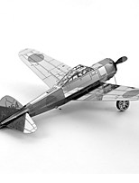 cheap -Mitsubishi A6M Zero 3D Puzzles Metal Puzzles Fighter Aircraft Creative Focus Toy Hand-made Metal Military Standing Style Toy Gift