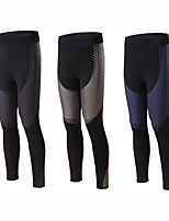 abordables -BARBOK Femme Pantalon de yoga Collants - Des sports Yoga, Course / Running, Fitness Avion-école, Yoga, Séchage rapide strenchy Or, Bleu,