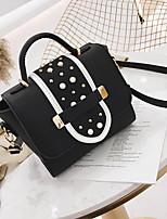 cheap -Women's Bags PU Shoulder Bag Zipper for Casual Beige / Gray / Khaki
