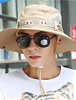 cheap -Men's Casual Cotton Sun Hat - Print, Basic