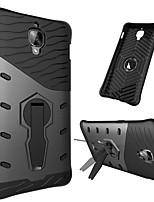 Недорогие -Кейс для Назначение OnePlus 3T / 3 Защита от удара / со стендом / Поворот на 360° Кейс на заднюю панель броня Твердый ПК для One Plus 3T / One Plus 3