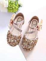abordables -Fille Chaussures Paillette Brillante Eté Premières Chaussures Sandales Cristal pour Décontracté Or Argent Rose