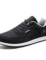 cheap -Men's Shoes Fabric Spring Fall Comfort Sneakers for Casual Black Gray Blue