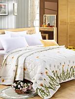 preiswerte -Gemütlich Poly /  Baumwollmischung Poly /  Baumwollmischung Jacquard 300 Tc Blumen