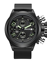 cheap -BAOGELA Men's Fashion Watch Sport Watch Chinese Quartz Calendar / date / day Stopwatch Three Time Zones Silicone Band Casual Fashion