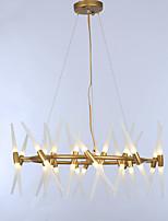 preiswerte -ZHISHU Kronleuchter Raumbeleuchtung - Verstellbar, Natur inspirierter Stil Schick & Modern, 110-120V 220-240V Glühbirne nicht inklusive