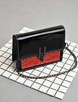 preiswerte -Damen Taschen PU Umhängetasche Reißverschluss für Normal Gold / Rote / Rosa