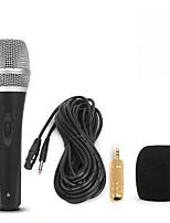 abordables -KEBTYVOR DH1 Câblé 6.3mm Microphone Micro Microphone Dynamique Microphone à Main Pour Microphone d'Ordinateur Microphone de Karaoké